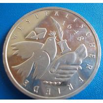 Alemanha-moeda Prata 10 Mark-1998-comemorativa