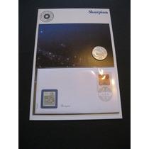 Moeda / Medalha Scorpion Prata Pura 999