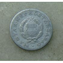 8252 - Hungria 1 Forint 1968, 23mm, Serrilha - Aluminio