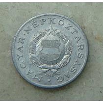 9661 - Hungria 1 Forint 1968, 23mm, Serrilha - Aluminio