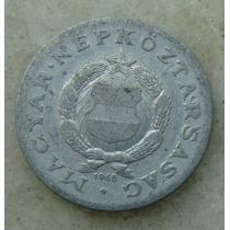 9589 - Hungria 1 Forint 1968, 23mm, Serrilha - Aluminio
