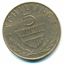 5 Shillings - Austria - 1972 - Possuo Outras Moedas! 1a