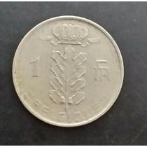 Moeda Bélgica Belgique - 1 Um Franco - Ano 1951