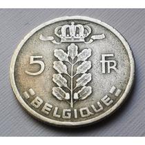 Moeda 5 Francs - Bélgica - 1949