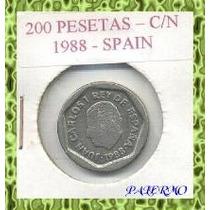 5376 - Espanha - 200 Psetas 1988