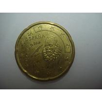 (m744) Espanha Moeda 20 Euro Cent 2001