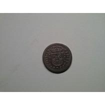 Moeda Espanha 1/2 Real 1734 -pa- Prata