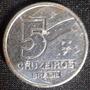 Moeda Antiga De 5 Cruzeiros - 1990 Brasil