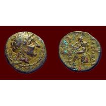 Antiochos I Soter. Moeda Antiga Grega. Grécia! Síria.