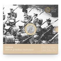 Moeda Comemorativa Primeira Guerra Mundial - Inglaterra