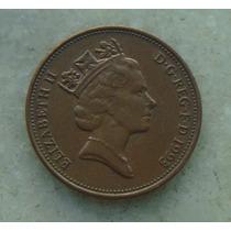 1278 Inglaterra 1993 Two Pence 26mm - Bronze Elizabeth