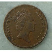 2206 Inglaterra 1986 Two Pence Elizabeth I I 26mm - Bronze