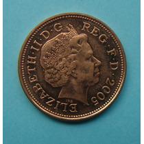 53 - Inglaterra 2 New Pence 2005, 26mm Elizabeth - Bronze