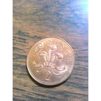 Moeda Inglaterra 2 Two Pence - Unidade - Uk England