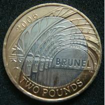 Moedas - Inglaterra - 2 Pounds 2006 - Fc - Bimetálica