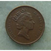 1279 Inglaterra 1993 Two Pence 26mm - Bronze Elizabeth