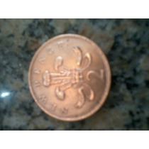 Moeda Antiga 2 New Pence
