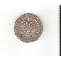 Linda Moeda Da Inglaterra De 20 Pence De 1983 - Vejam A Foto