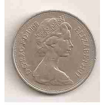 Ml-1478 Moeda Inglaterra (10 New Pence) 28mm 1968