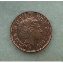 1460 Inglaterra 2005 Two Pence 26mm - Bronze Elizabeth