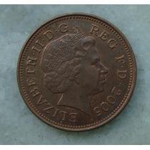 1589 Inglaterra 2005 Two Pence Elizabeth I I 26mm - Bronze