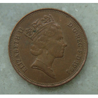 1700 Inglaterra 1994 Two Pence Elizabeth I I 26mm - Bronze