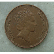 1700 Inglaterra 1994 Two Pence Elizabeth I I 26mm - Bronze