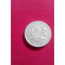 Moeda De One Pound 1993 (raríssima)