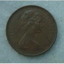1900 Inglaterra 1971 Two Pence 26mm - Bronze Elizabeth