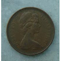 1905 Inglaterra 1971 Two Pence 26mm - Bronze Elizabeth