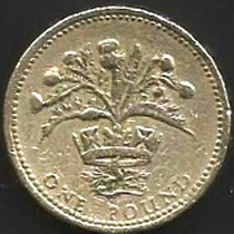Inglaterra - 1 Pound 1989 -------------------- =2393=