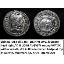 Moeda Imperio Romano Licinius - Roma Antiga