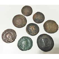 Lote De 8 Moedas Antigas Do Império Romano High Quality - 2