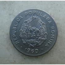 4809 Republica Popular Romenia 25 Bani, 1960, Inox, 22mm