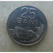 4811 Republica Socialista Romenia 25 Bani, 1966, Inox, 22mm