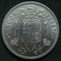 Moedas - Espanha - 5 Pesetas 1949 - Fc