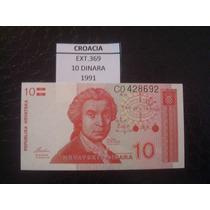(ext.369) Croacia - 10 Dinara - 1991 - Fe