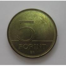 Hungria: Linda Moeda 5 Forint De 1993 Fc