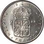 Suécia - Moeda De 1 Krona 1957