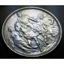 Raríssima Moeda Comemorativa Dos 1.000 Anos Da Hungria 1896