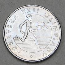 Polônia - Moeda Comemorativa 20zl 1980 Olimpics Fc