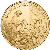 Moeda Polônia 150th Anniversary Of The January 1863 Upris Fc
