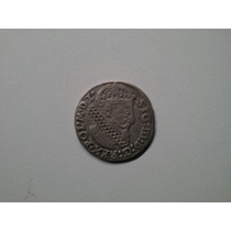 Moeda Polonia 1 Trojak 1624 Prata