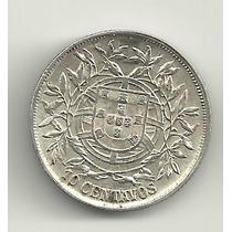 10 Centavos - Portugal - 1915 - Prata