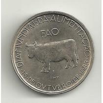 5 Escudos - Portugal - Fao - Animais- Boi/vaca - 1983 - Unc