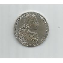 5731 - Rússia - 1 Rouble - 1727 Petr Ii Coin Copy