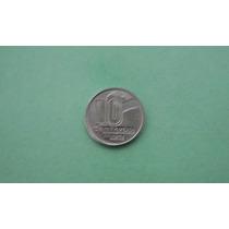 Moeda De 10 Centavos De 1990 Aço Inox