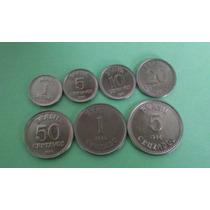Moedas 1/5/10/20/50/centavos E1/5/ Cruzados De 1986