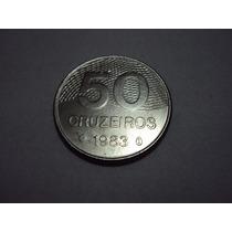 Moeda De 50 Cruzeiro De 1983