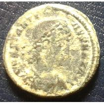 Moeda Antiga Imperio Romano - Constancio Ii - Ano 337 - 361